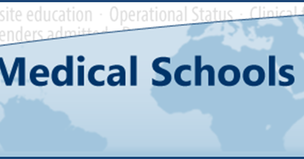World Directory of Medical Schools Listing