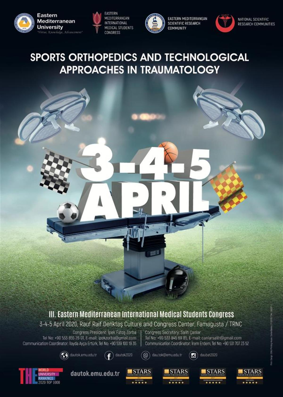 Sports Orthopedics and Technological Approaches in Traumatology