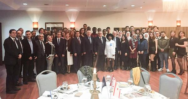 Students of EMU and Marmara University Joint Medicine Program Came Together at a Reception