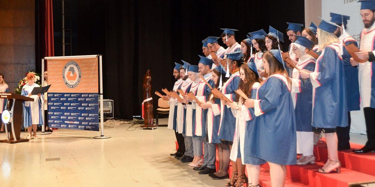 "EMU Dr. Fazıl Küçük Faculty of Medicine Organizes ""Hippocratic Oath Ceremony"" for First Graduates"